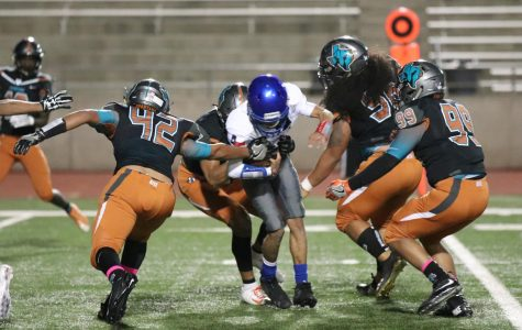 Americas Win Second District Game With 39-21 Victory Over Spartans